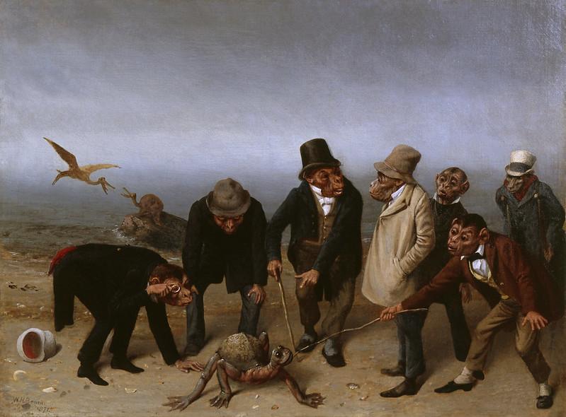 William Holbrook Beard - The Discovery Of Adam, 1891