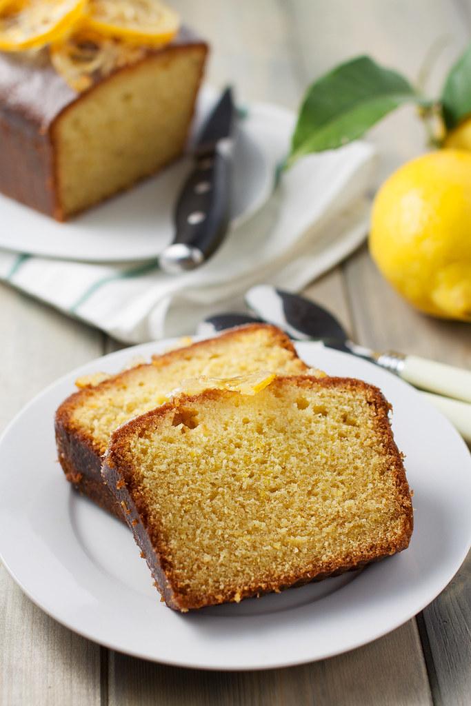 Plumcake al limone ( Lemon Loaf)