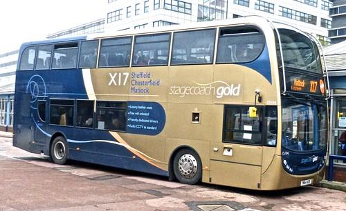 YN64 AOE 'Stagecoach Yorkshire' 15194 Scania N230UD / ADL Enviro 400.
