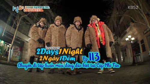 [Vietsub] 2 Days 1 Night Season 3 Tập 113