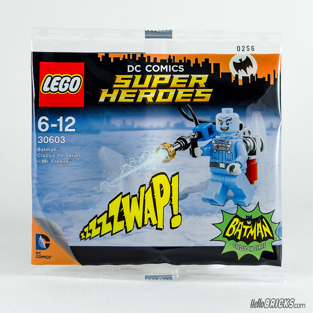 REVIEW polybag Mr Freeze LEGO 30603 (HelloBricks)