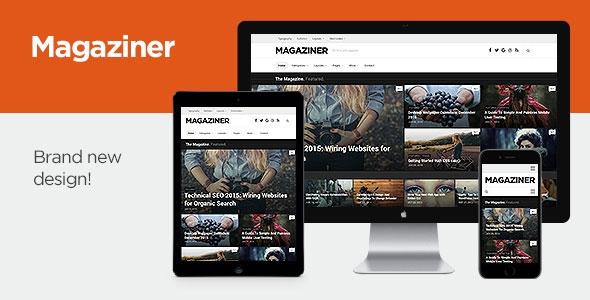Magaziner v1.0.5 - Responsive WordPress Magazine Theme