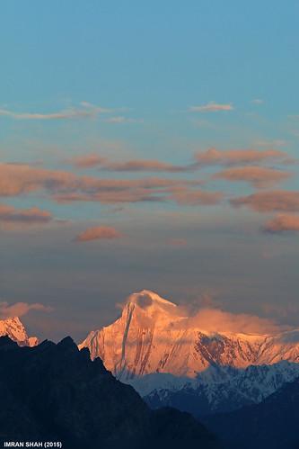 pakistan sky snow mountains ice clouds landscape location elements tele hunza summits gilgitbaltistan gutumtalji