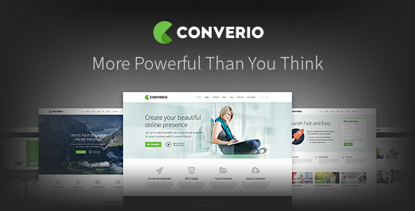 Converio v1.0.30 - Responsive Multi-Purpose WordPress Theme