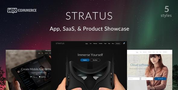 Stratus v1.2.1 - App, SaaS & Product Showcase