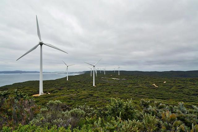 Header of Albany Wind Farm