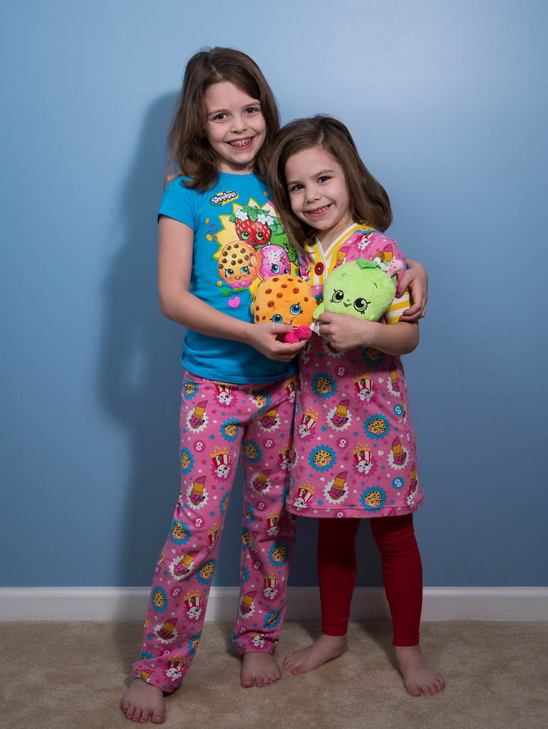 Sisters and their Shopkins