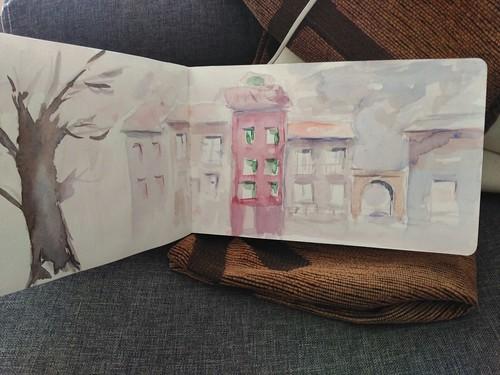51st sketchcrawl, Elgeta