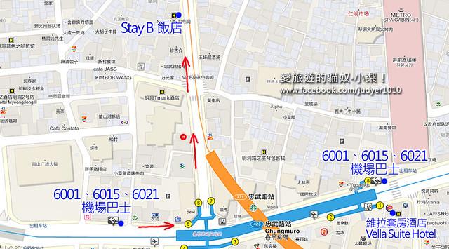 忠武路地圖 -1