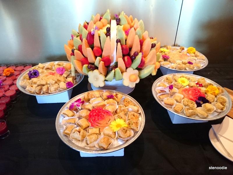 Fruit Basket and Baklava