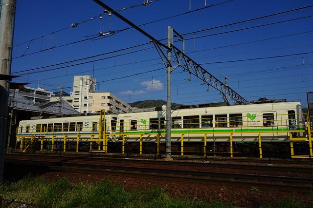 2016/04 叡山電車×NEW GAME! ラッピング車両 #95