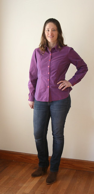 Butterick 5526; Button-down Shirt