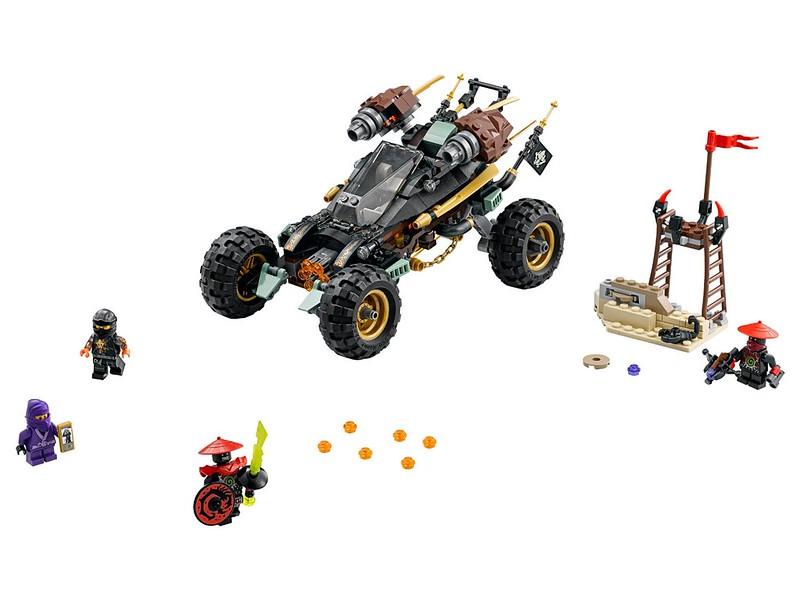 LEGO Ninjago Sets 2016: 70589 - Rock Roader