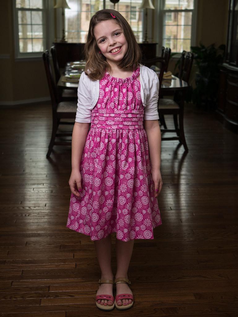 Molly's new dress