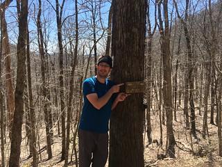 Me at the Georgia / North Carolina border