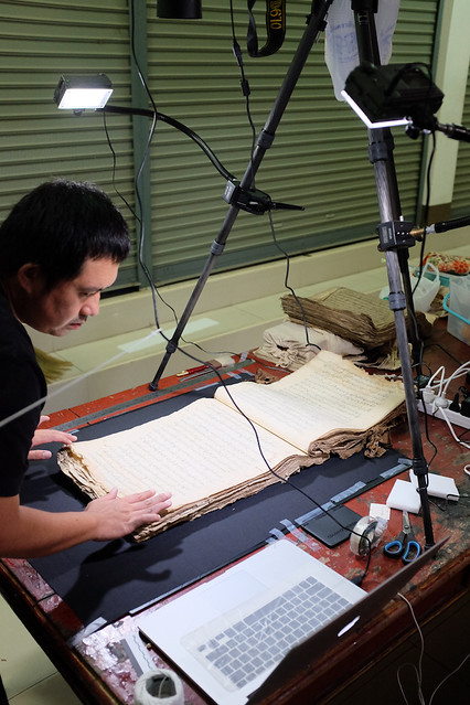 Manuscript, Wat Pa Pao. Photo from David Wharton. Digital Library of Northern Thai Manuscripts