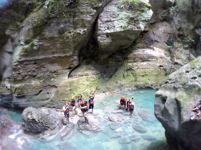 Canyoneering Cebu Kawasan
