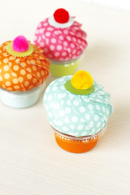 Paper Puff Die and Snack Cup Wrap by Papertrey Ink