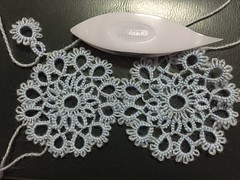 Tatting with Lace Weight Yarn