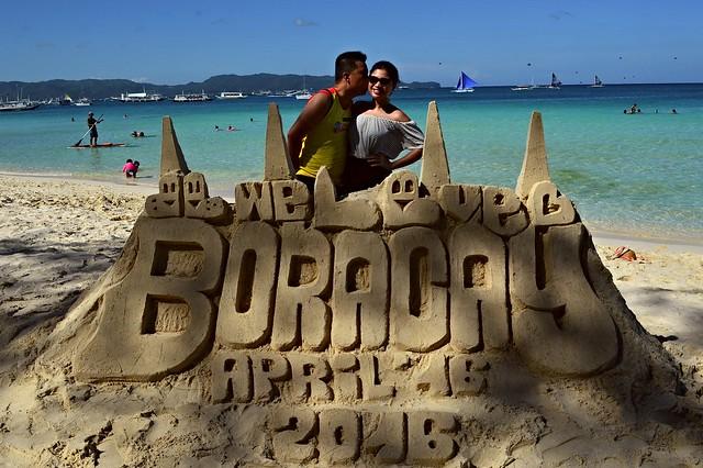 Boracay Birthday on April 16, 2016