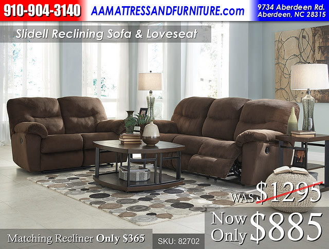 Slidell Reclining Set