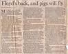 Pink Floyd Toronto Star September 18 1987