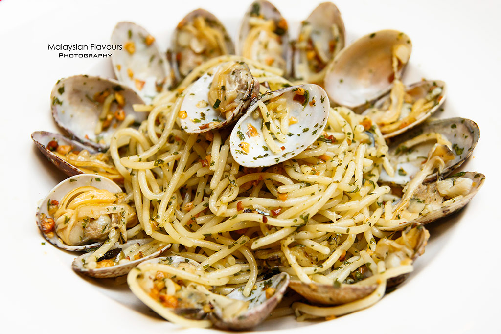 Fish & Co. Malaysia Set Lunch Menu aglio olio