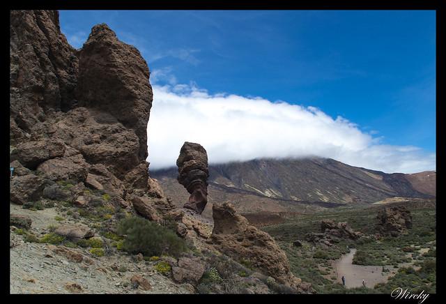 Tenerife Parque Nacional Teide Valle la Orotava - Mirador Roques de García