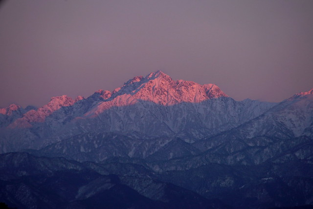 Abendrot / Mt. Tsurugi