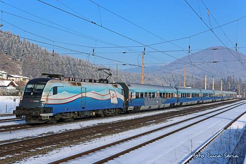 ÖBB 1116 251 + RailJet Ski Austria
