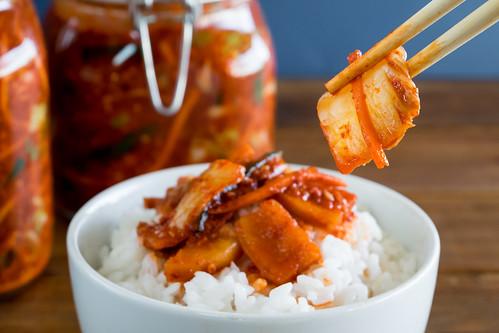 vegetarian kimchi
