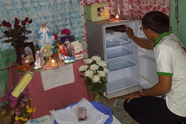 Chiếc tủ lạnh chứa đầy xác em bé và