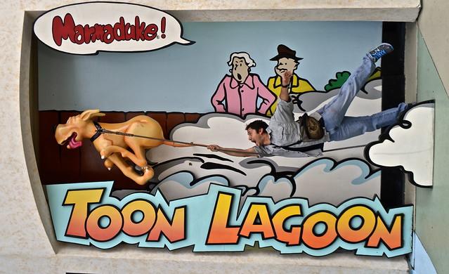 toon lagoon - Universal Studios in Florida