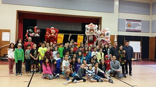 January 29' 16 Chinese New Year at Adobe Bluffs Elementary School in Poway