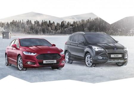 Vyzkoušejte přímo na horách vozy Ford 4x4 a vyhrajte Kugu na rok
