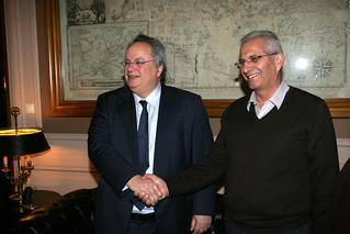 Συνάντηση ΥΠΕΞ Ν. Κοτζιά με Γενικό Γραμματέα ΑΚΕΛ Α. Κυπριανού (ΥΠΕΞ, 21.01.2016)