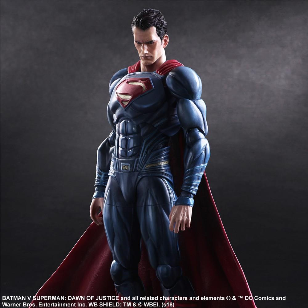 Play Arts 改【超人。Superman】蝙蝠俠對超人:正義曙光
