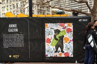 Super Bowl City - Art Walk Annie Galvin