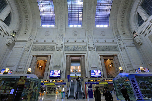 Milano Centrale at Night