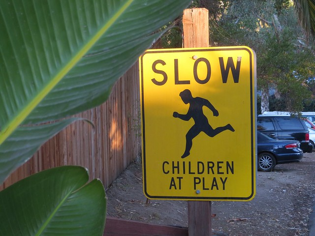 slow children? not nice.