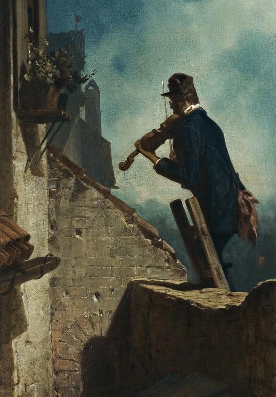 Carl Spitzweg - Ständchen (1854)