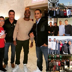 Senior Partner, Andrew Diana, literally amongst the country's Elite this weekend in Super Bowl City! #adrianpeterson #supersaturday #superbowl50 #keeppounding #clt #charlotte #directv