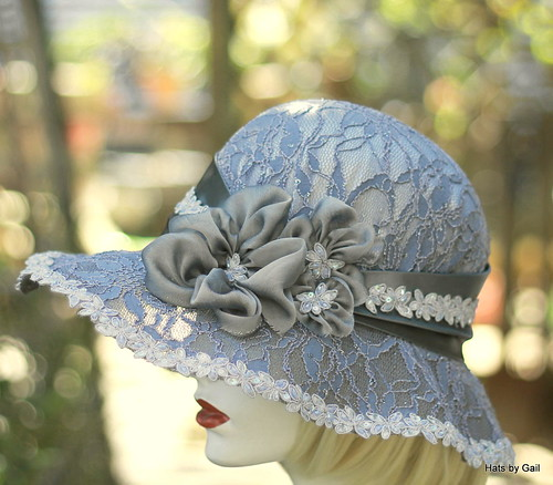 Silver Grey Mother of the Bride Hat