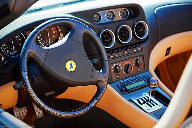 Ferrari F550 Interior