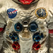 Small photo of Alan Shepard space suit