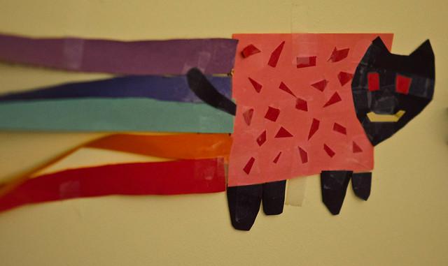 Nyan Cat Papercraft