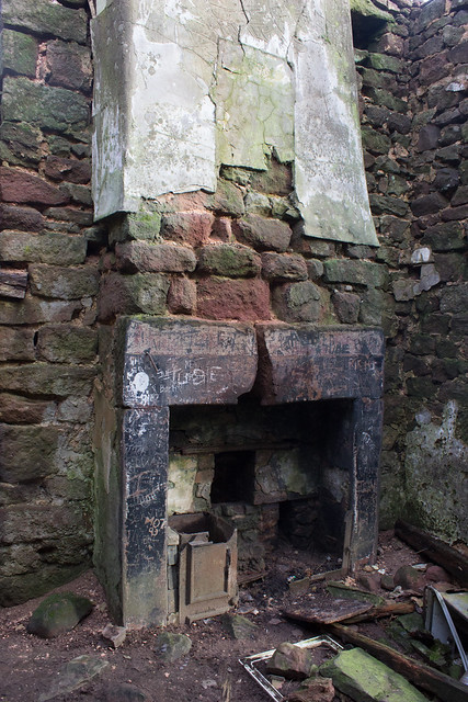 Inside an abandoned house, The Roaches