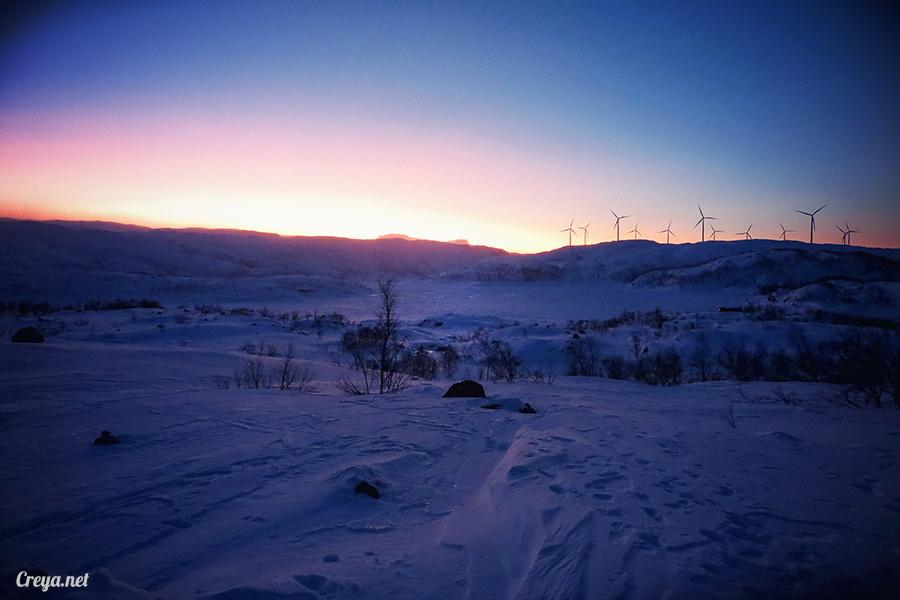 2016.02.23▐ 看我歐行腿 ▐ 阿呀~一不小心就從瑞典到了挪威, Narvik 小鎮遇見地理課本中的峽灣 41.jpg