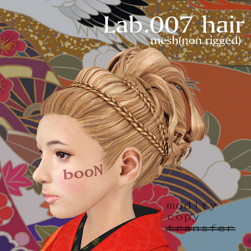 booN Lab.007 hair @hairology