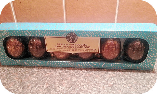 M&S Passion Fruit Double Ganache Chocolate Eggs